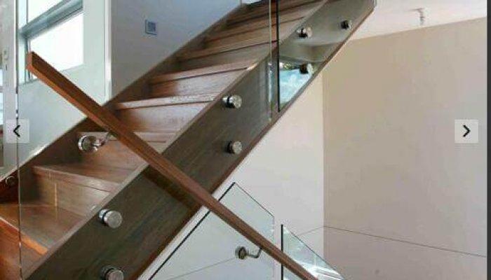 glass balustrade for stair